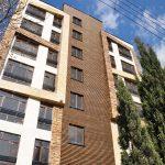 پروژه نمای چوبی ساختمان سعادت آباد
