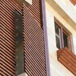 پروژه نمای چوبی ساختمان _ کد01