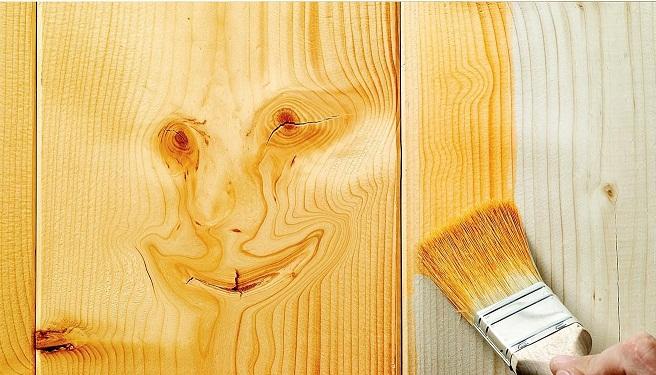 معرفی انواع رنگ کاری چوب