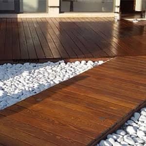 نمونه چوب ترموود