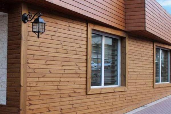انواع چوب نمای ساختمان
